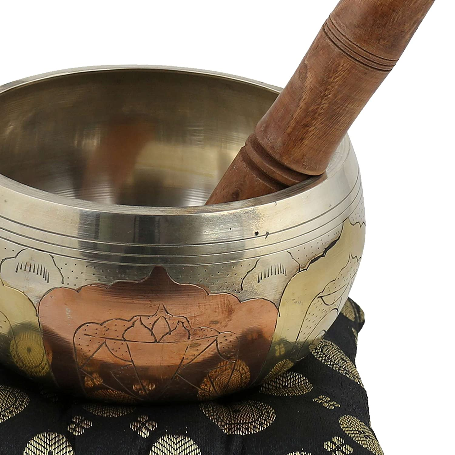 Christmas Gifts Singing Bowl Indian Musical Instruments Brass