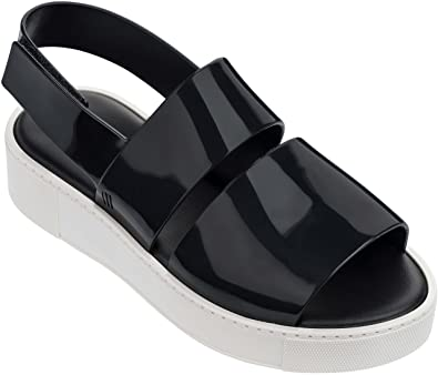 6f00b74cc Amazon.com | Melissa Shoes Women's Soho Black/White 7 M US | Flats