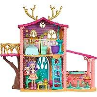 Enchantimals Supercasa del bosque y muñeca Danessa, casa