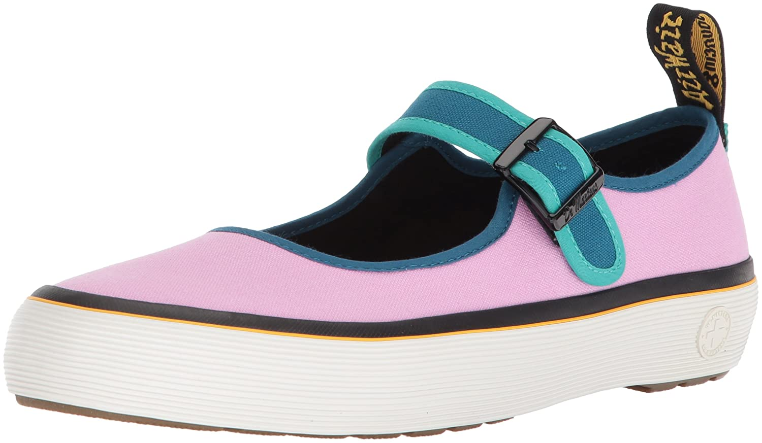 Dr. Martens Women's Florentia Mary Jane Flat B071GN72Q5 5 Medium UK (7 US)|Multi Canvas