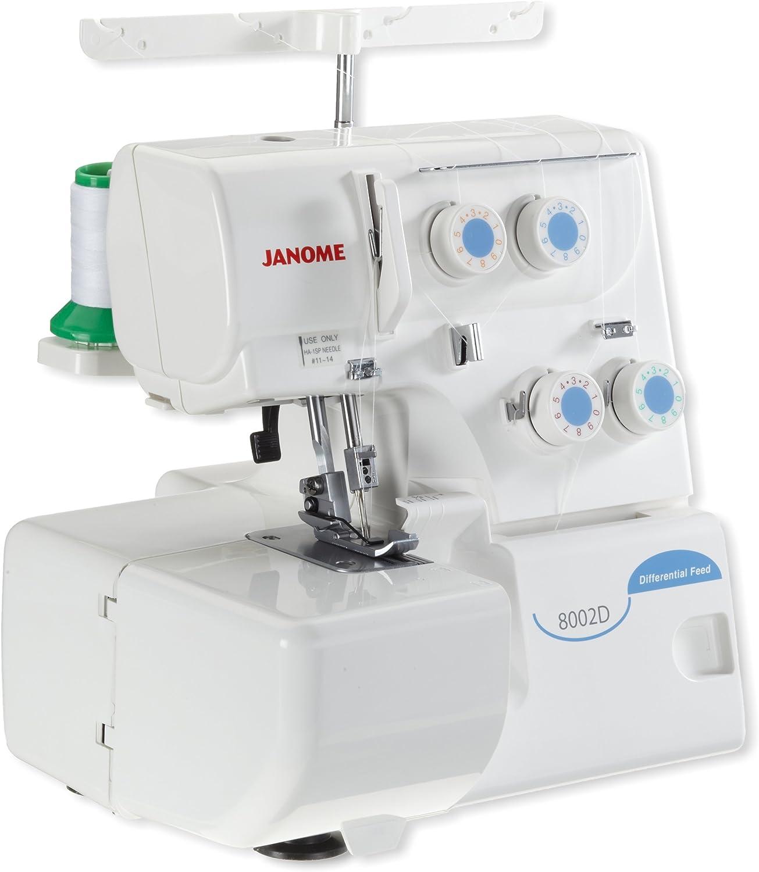 Janome–Máquina de Coser overlock 8002d