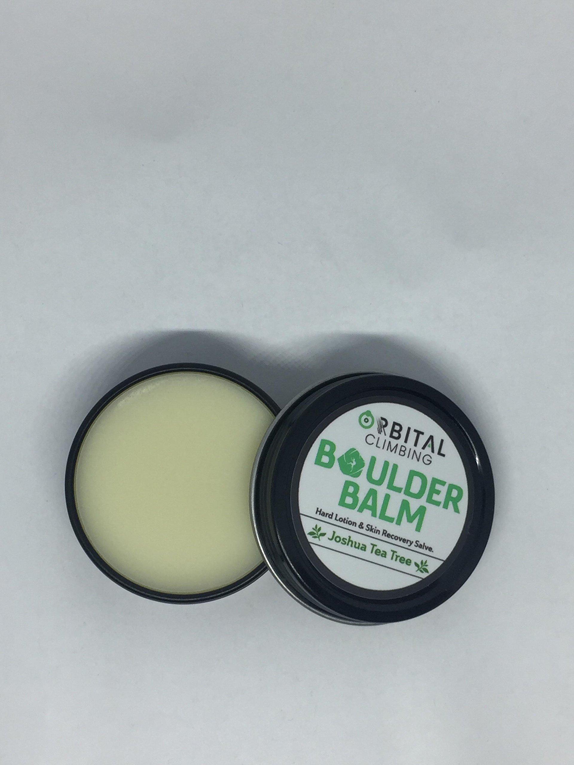 Boulder Balm: Hard Lotion Skin Recovery Salve (Joshua Tea Tree Scent) 1oz