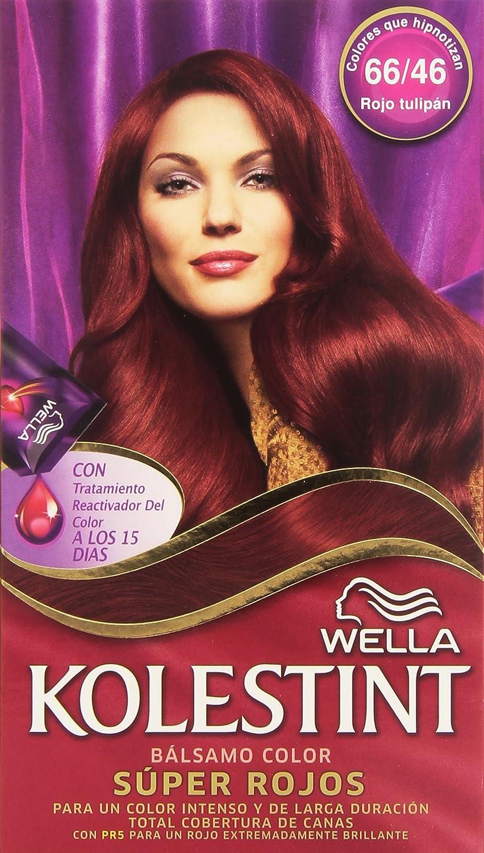 Kolesint Bálsamo color Rojo Tulipan 66/46 - [paquete de 3]