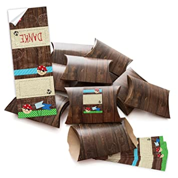 10 Kleine Geschenkschachteln Geschenk Boxen Kartons Braun 14 5 X 10