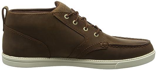 Timberland Men's Fulk Moc Toe Leather Chukka