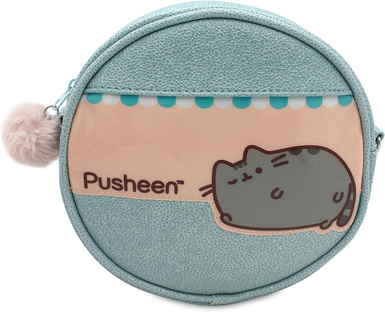 Neceser para niña Pusheen The Cat Estuche/Neceser Relax Redondo, tamaño Mediano.: Amazon.es: Equipaje