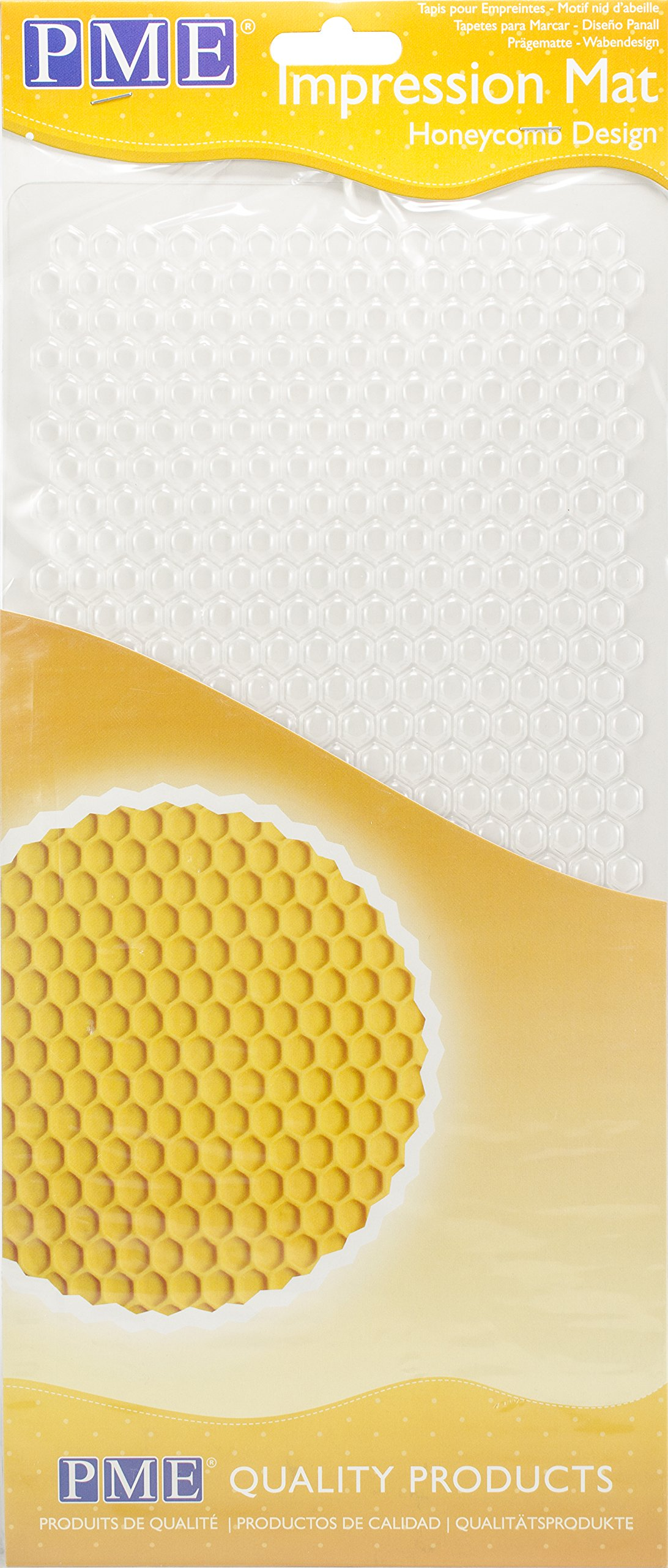 PME Honeycomb Design, Impression Mat, 12 x 6-inch