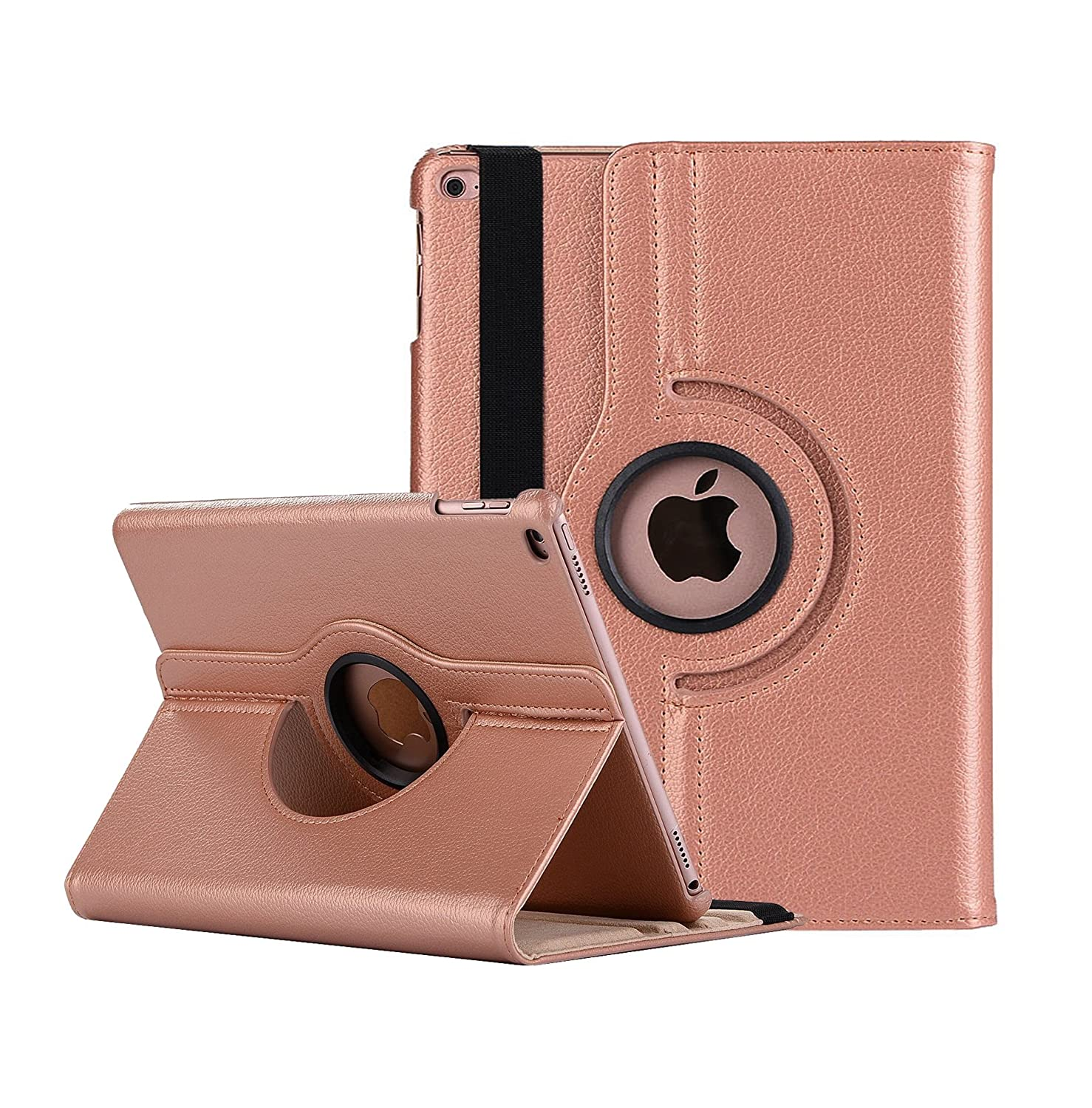 Robustrion Smart 360 Degree Rotating Stand Case Cover for