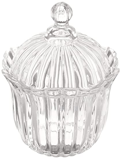 Famous Amazon.com: Crystal Clear Alexandria Candy Box, Jar with Lid: Home  YN25