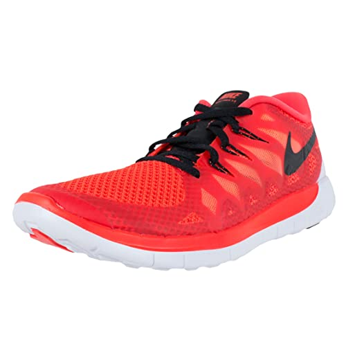 Nike Free 5.0 (GS) Laufschuhe bright crimson-black-hot lava - 38