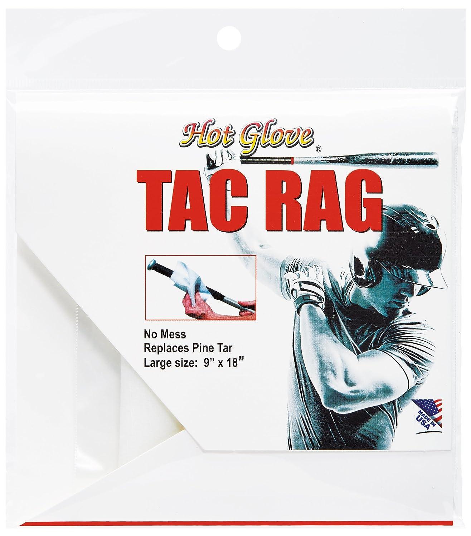 Unique Ú nico Deportes Caliente de bé isbol Guante TAC Rag, (tamañ o Grande, 9 x 45 cm) (tamaño Grande 9x 45cm) RAG-WXL