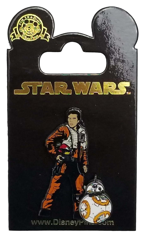 Disney Pin - Star Wars - The Last Jedi - Poe Dameron and BB-8