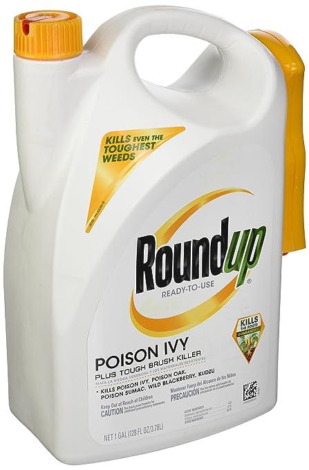 Roundup 5007410 Poison Ivy Plus Tough Brush Weed Killer, 1 Gallon