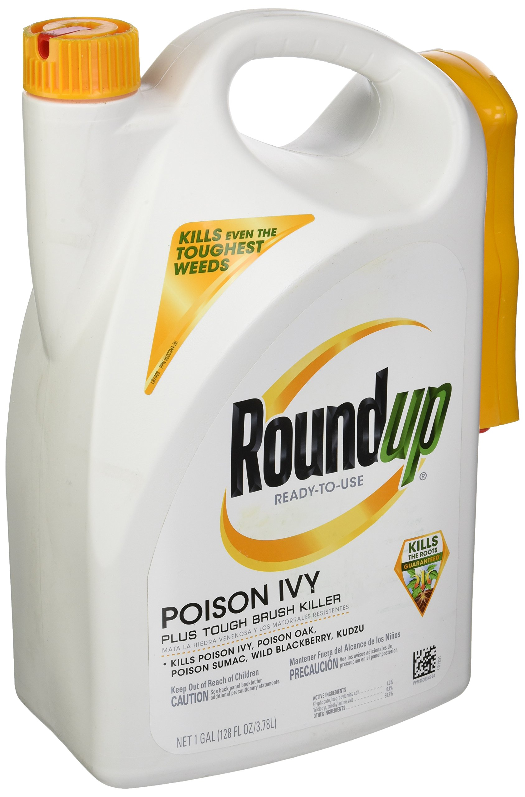Roundup Tough Brush Weed Killer, 1 Gallon