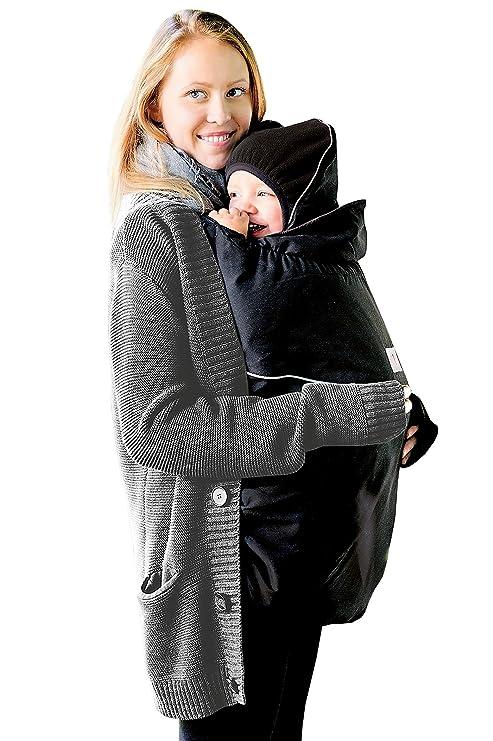 MAM - Cubierta para mochilas portabebés, color negro
