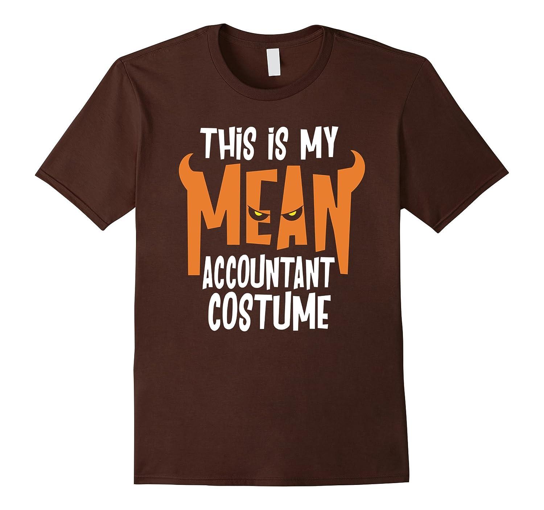 Accountant Costume Shirt Funny Halloween TShirt-PL