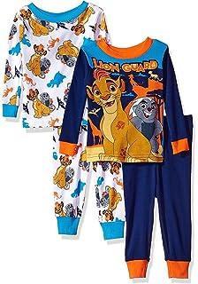Disney Junior The Lion Guard 4 Piece Cotton Toddler Pajamas For Little Boys