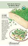Organic Be Mellow Blend Microgreen Seeds - 16 grams