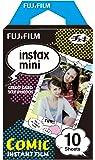 FUJIFILM インスタントカメラ チェキ用フィルム 10枚入 絵柄 (コミック) INSTAX MINI COMIC WW 1