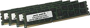 64GB (4 X 16GB) Memory for Apple Mac Pro Mid 2012 1333MHz DDR3 ECC SDRAM R-DIMM PC3-10600 RAM (PARTS-QUICK Brand)