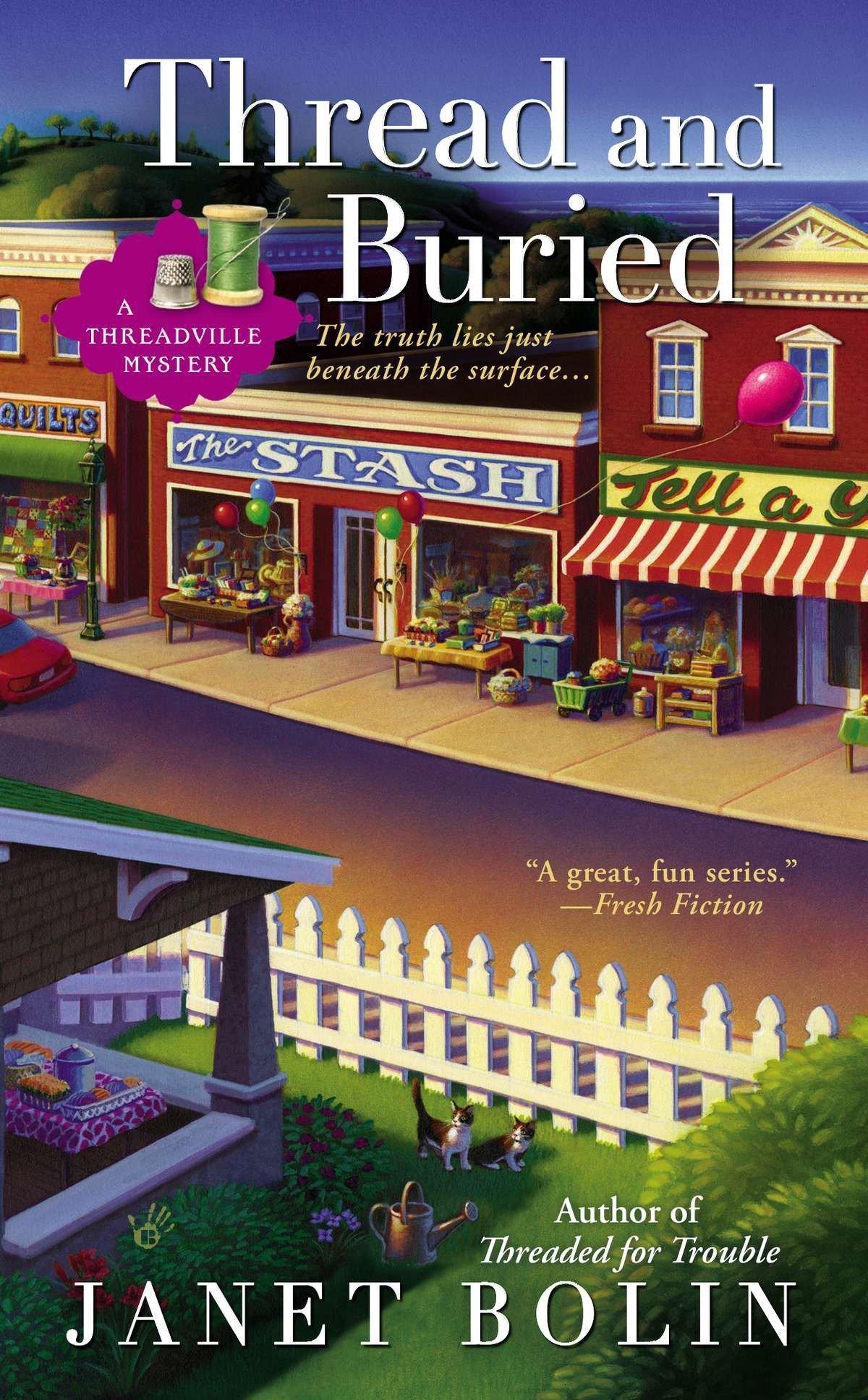 Thread and Buried (A Threadville Mystery) ebook