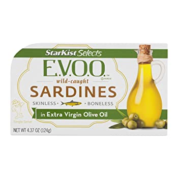 StarKist E.V.O.O 4.37-oz Canned Sardine In Extra Virgin Oil