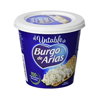 Burgo De Arias - Queso Crema Untable Natural - 140 g