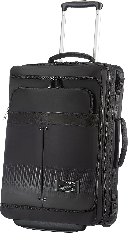 Samsonite Cityvibe Lapt. Duffle/Wh.55/20 Exp Bolsas de viaje, 39 cm, 39 L, Color Negro