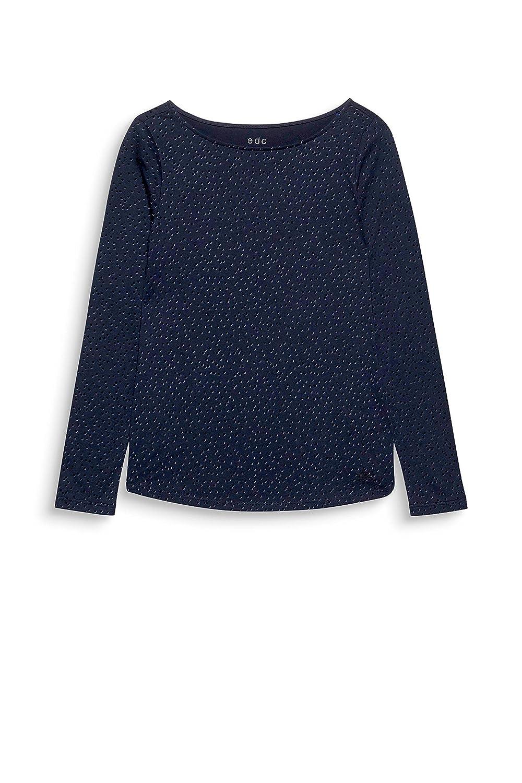 edc by Esprit T T-Shirt /À Manches Longues Femme