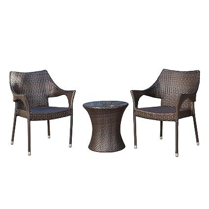 Amazon Com Gdf Studio Tahitian Patio Furniture 3 Piece Outdoor