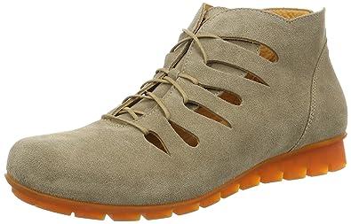 Think Damen Menscha_181074 Desert Boots, Rot (Rosso/Kombi 72), 37 EU