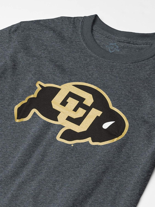 Elite Fan Shop Fan Favorite Dark Heather Short Sleeve Icon Tee Shirt