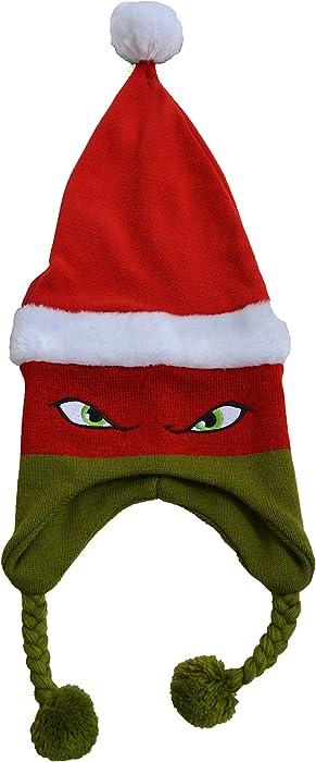 Teenage Mutant Ninja Turtles TMNT Raphael Christmas Santa Winter Hat