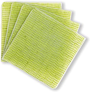 modern-twist 100% plastic free silicone tabletop, dining, decoration, modern design, Coasters, Green Apple