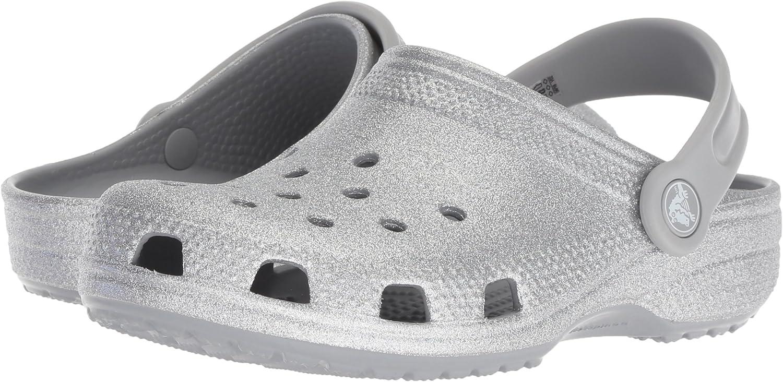 Crocs Damen Classic Glitter Clogs