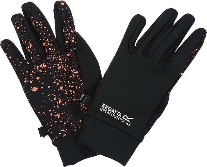 Regatta Kids/' Grippy Gloves Black
