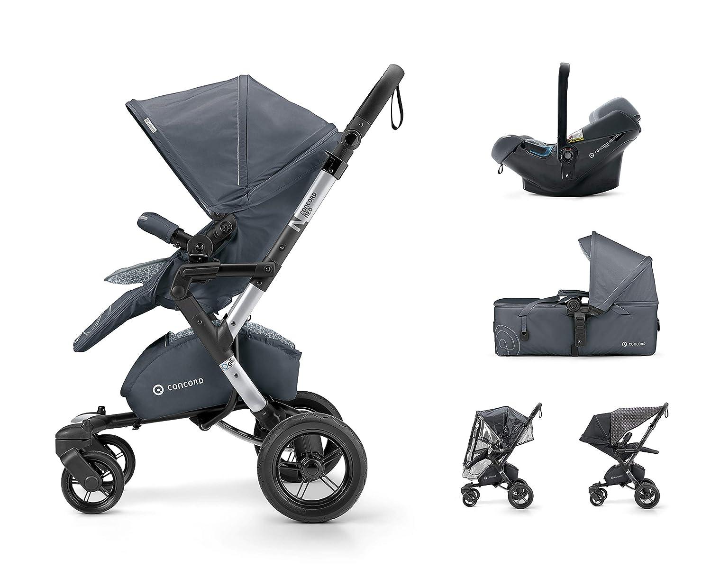 unisex Concord Neo Mobility Set color cosmic black Silla de paseo con capazo grupo 0+