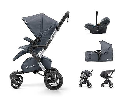 Concord Neo Mobility Set - Silla de paseo con capazo grupo 0+, unisex,
