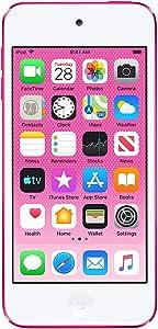 Apple iPod touch (32GB) - Pink (Latest Model) (Renewed)