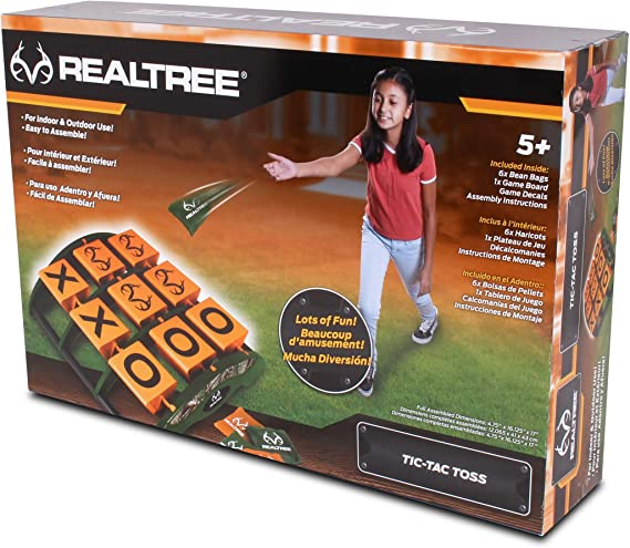 NKOK Realtree Games Tic-Tac-Toss Game Set