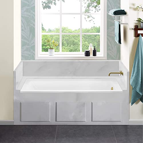 Swiss Madison Well Made Forever SM-DB564 Voltaire Alcove Bathtub