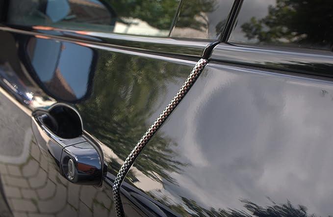 8 Meter T/ürkantenschutz Schwarz T/ürrammschutz Gummi passend f/ür Ihr Fahrzeug sch/ützen Sie effektiv Ihren kostenbaren Auto Lack