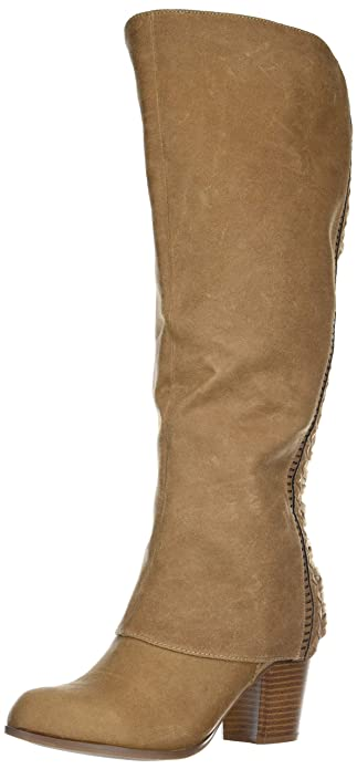 Fergalicious Womens Tender Wide Calf Knee High Boot Amazon Ca