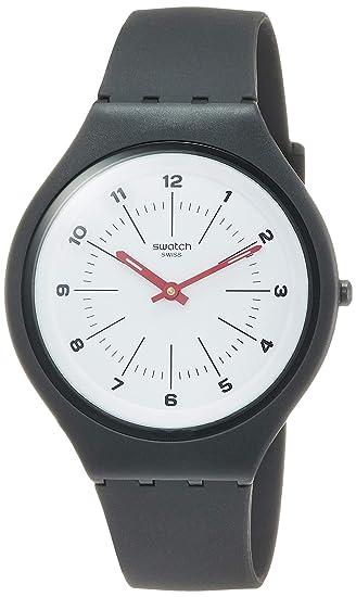 c4102d505fe7 Swatch Reloj Analógico para Unisex Adultos de Cuarzo con Correa en ...