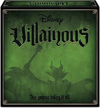 Ravensburger 26275 Disney Villainous, Versión Española, Juego de Mesa, 2-6 Jugadores, Edad Recomendada 10+: Amazon.es: Juguetes y juegos