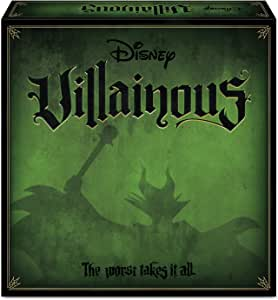 Ravensburger Disney Villainous, Board game, 2-6 players, Spanish version, Recommended age 10+ (26275)