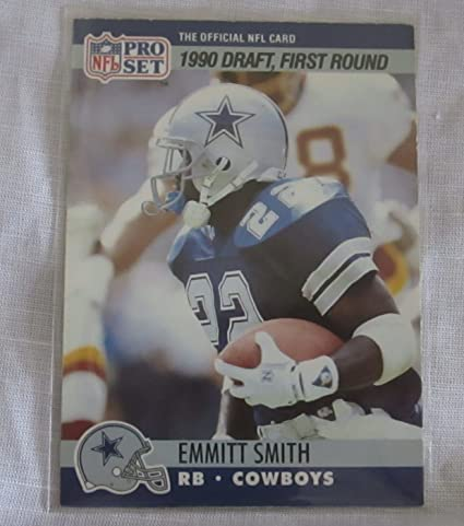 Emmitt Smith Nfl Rookie Card Collectible Trading Card 1990