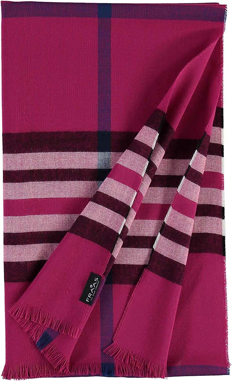 FRAAS Karierter Schal f/ür Damen /& Herren XXL The Plaid mit Karo-Muster Moderner Decken-Schal Made in Germany
