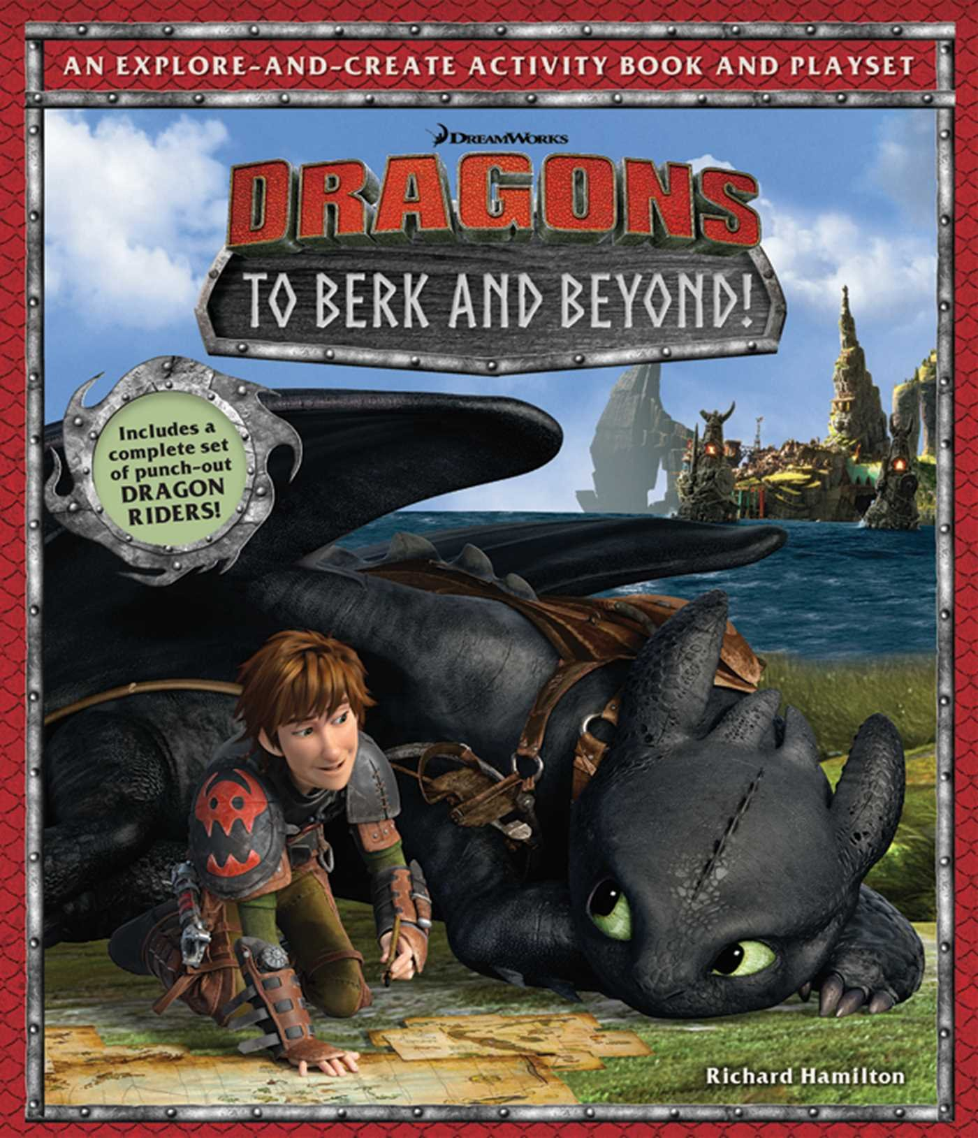 Amazon: Dreamworks Dragons: To Berk And Beyond!: An Exploreandcreate  Activity Book And Play Set (9781608876815): Richard Hamilton: Books