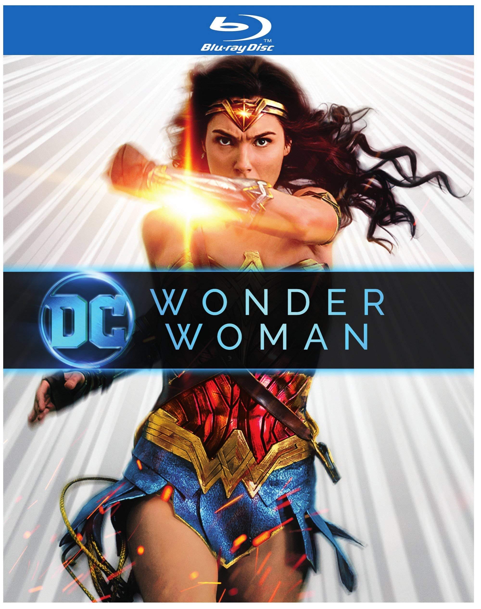 Blu-ray : Wonder Woman (Eco Amaray Case)